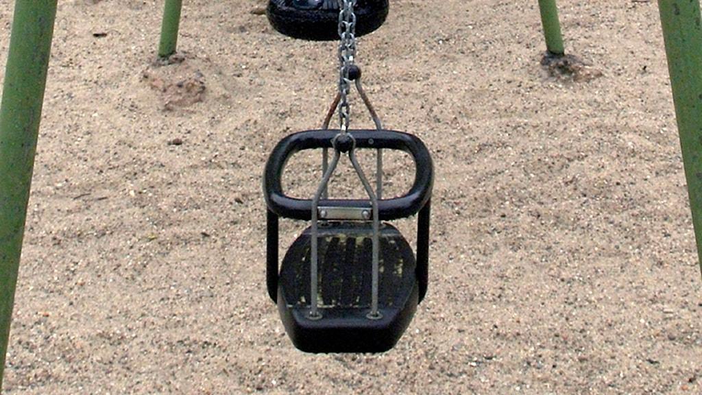 En gunga för mindre barn. Foto: Scanpix.