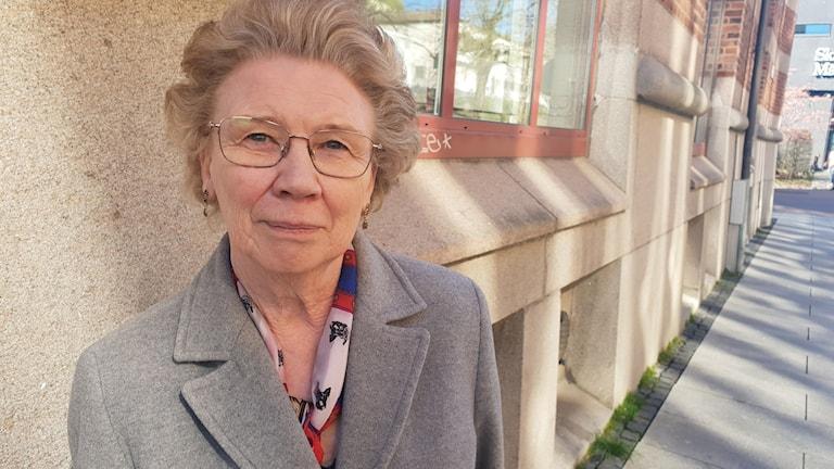 Yvonne Persson, ordförande för sociala omsorgsnämnden i Borås