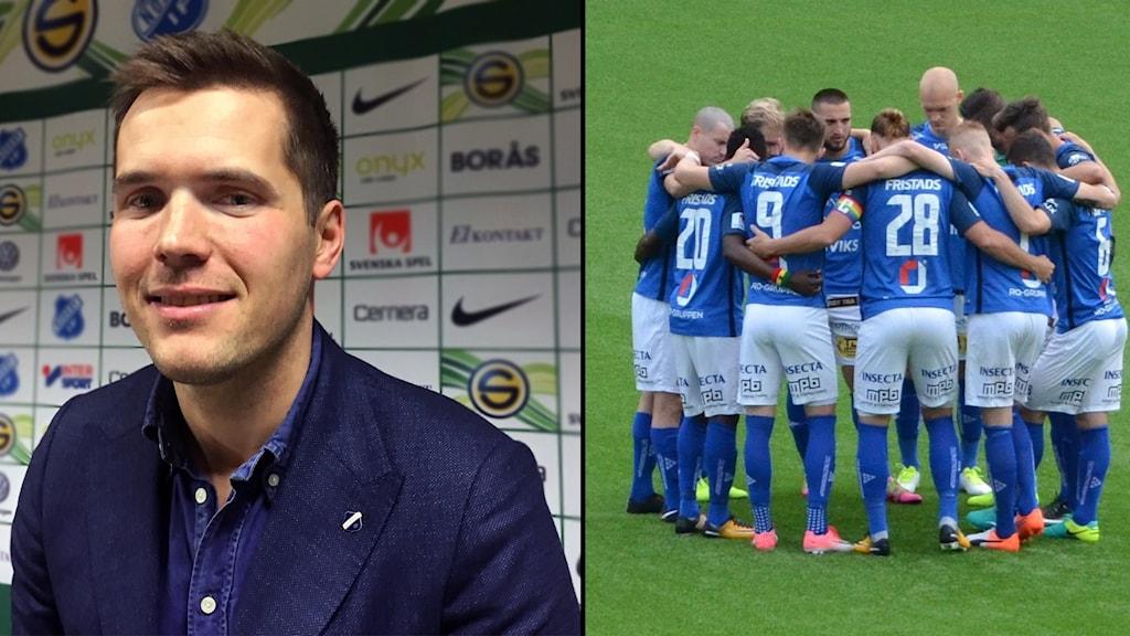 David Kryssman, sportchef för Norrby IF.
