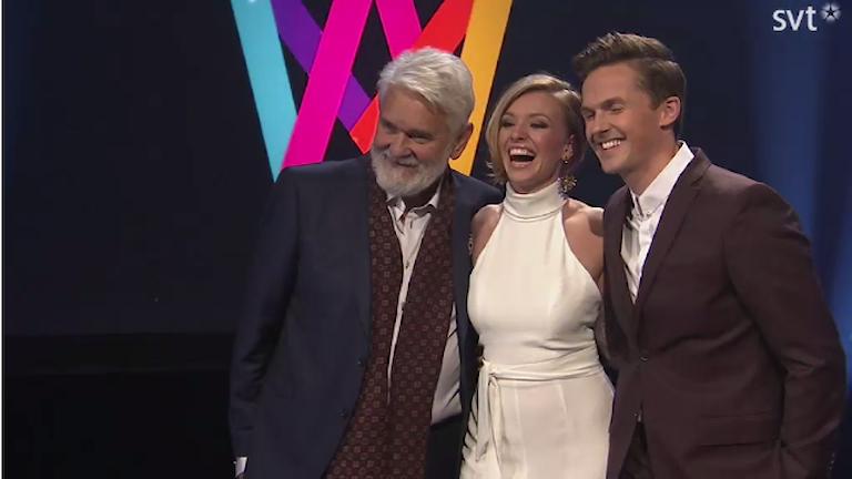 De tre nya programledarna för Melodifestivalen 2017