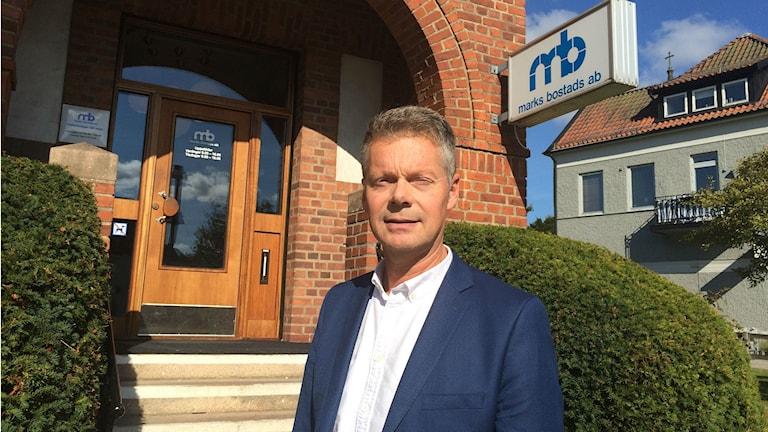 Marks bostads AB vd Magnus Hjelmgren.