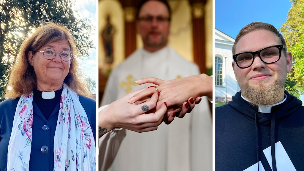 Lotta Haettner Sandberg, präst i Uddevalla och Jesper Pålsson, präst i Åmål viger båda homosexuella par men har delade meningar om väjningsrättens framtid.