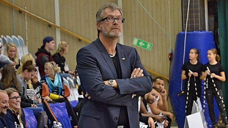 Jonte Karlsson, före detta coach för Borås basket