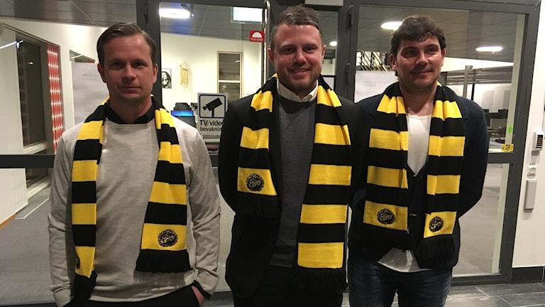 Tobias Linderoth, Jimmy Thelin och Miguel Beas tar över Elfsborgs A-lag.