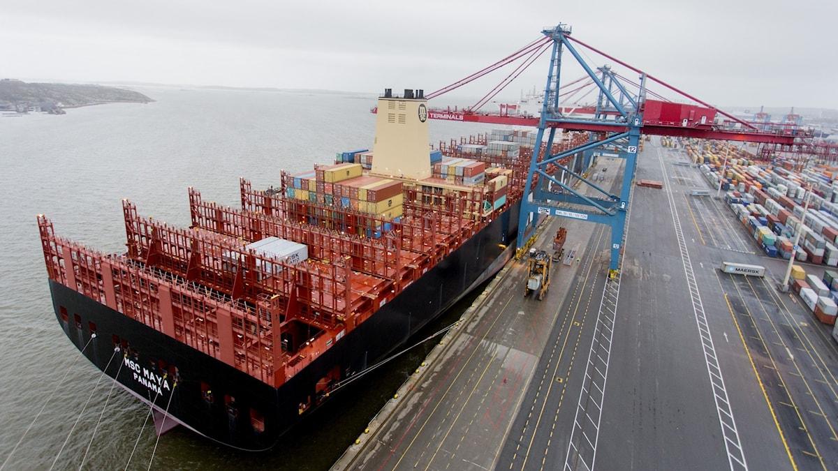 containerfartyg