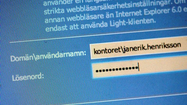 Många väljer att använda samma lösenord på flera olika ställen.
