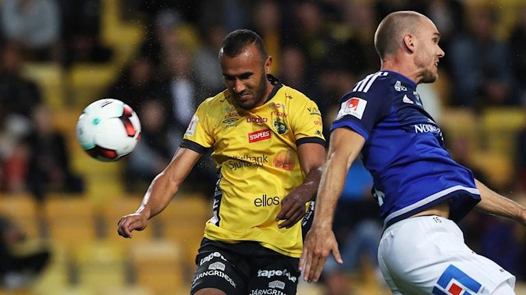 Allsvensk match mellan Elfsborg och GIF Sundsvall på Borås Arena