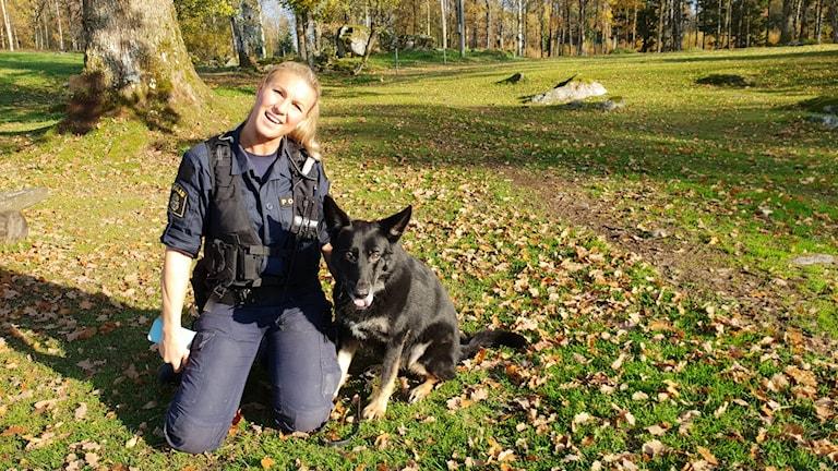 Jennie Guldenpfennig, polis från Borås.