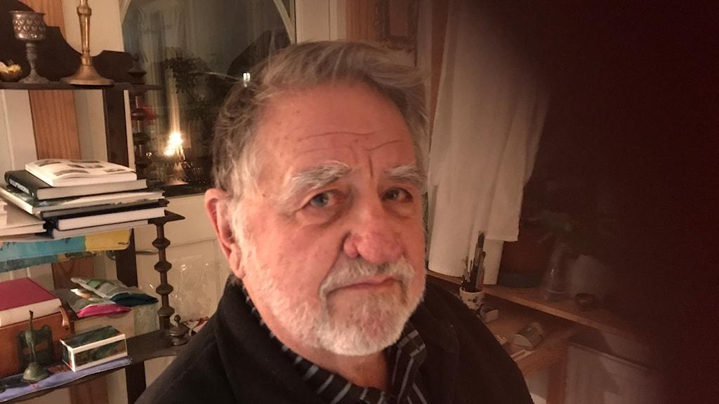 Gösta Walin, professor emeritus i oceanografi vid Göteborgs universitet.