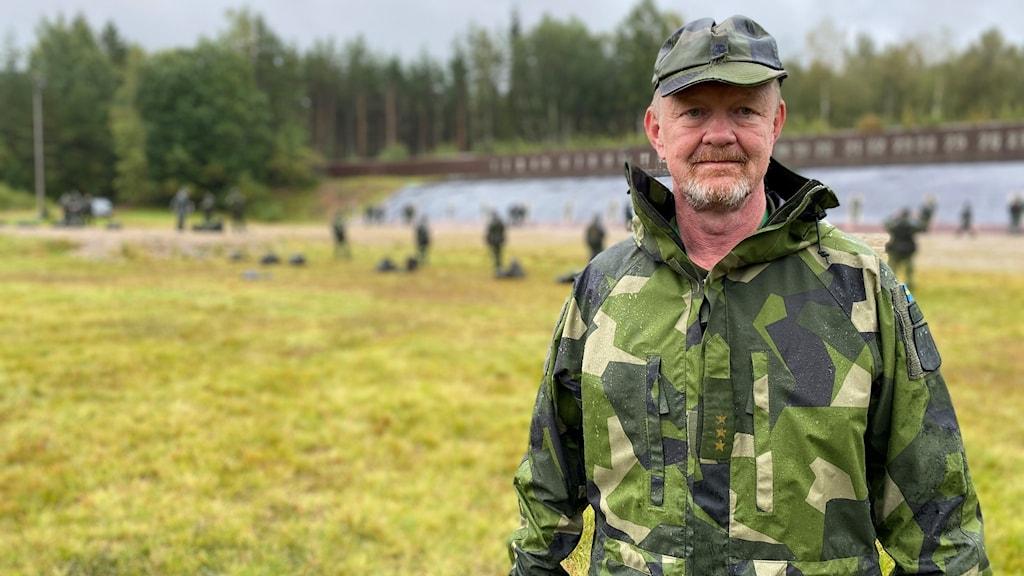 Efter att ha haft ett uppehåll på grund av coronapandemin har Hemvärnet nu återupptagit sin verksamhet. Cristian Svensson är bataljonschef.