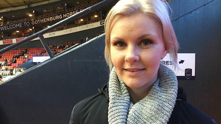 Hoppryttare Karin Martinsen från Vårgård på Gothenburg Horse Show.