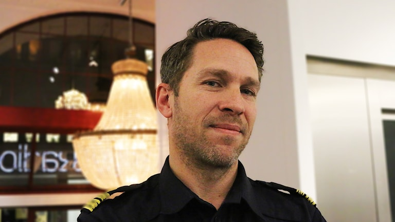 Lokalpolisområdeschef Tomas Stakeberg Jansson