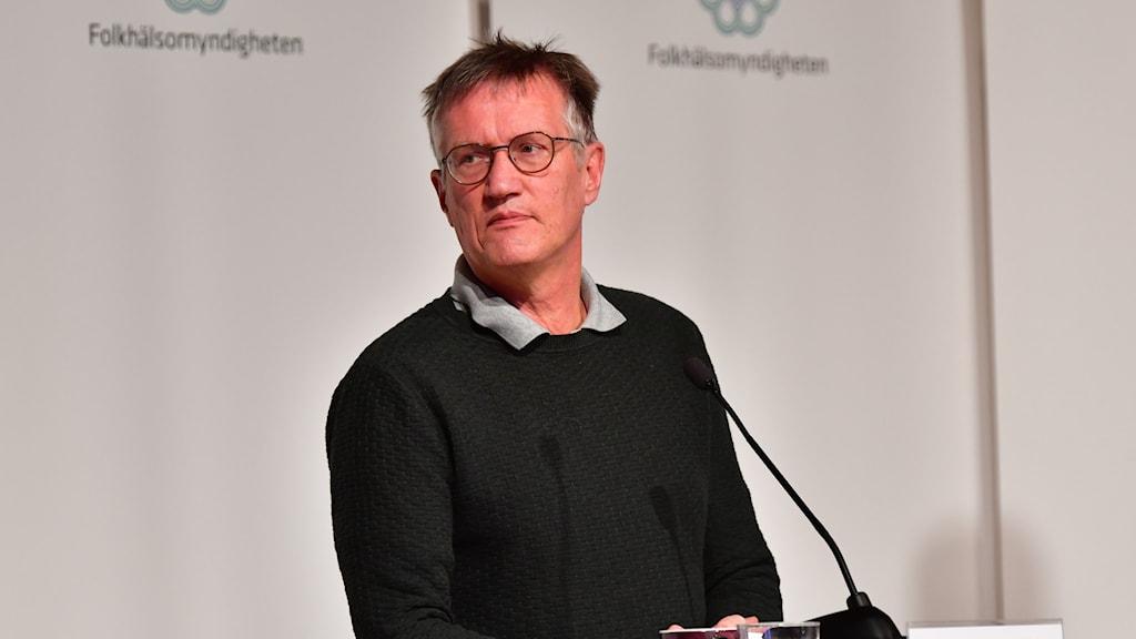 Anders Tegnell, statsepidemiolog på Folkhälsomyndigheten
