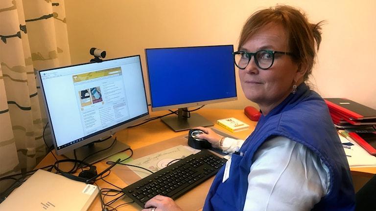 Sara Degerman Carlsson, Chefläkare SÄS