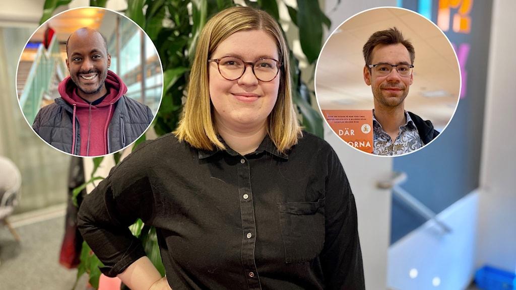 Moses Araya, Elisa Tattersall Wallin, Martin Edelfeldt