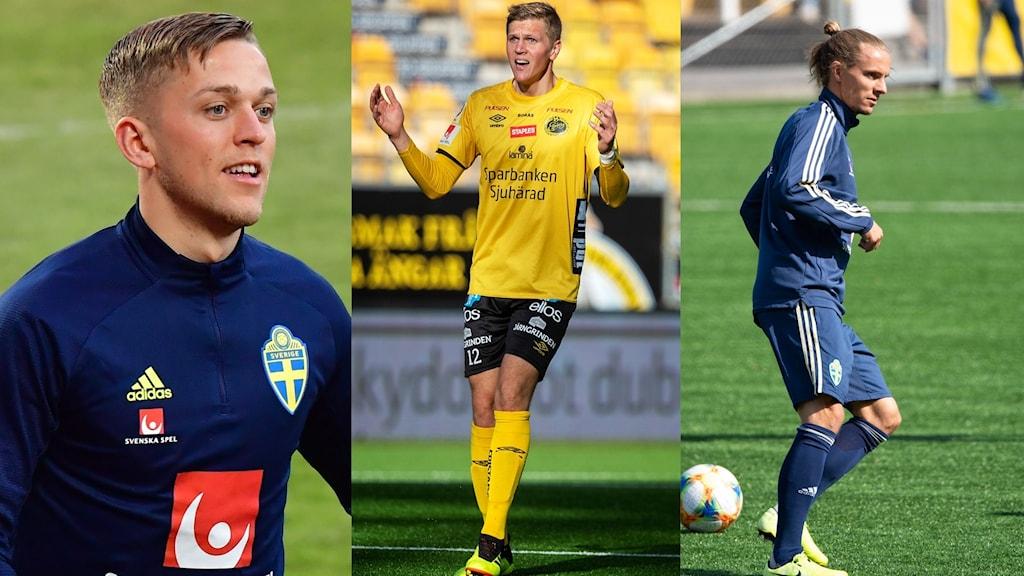 Jesper Karlsson, Joakim Nilsson och Niklas Hult.