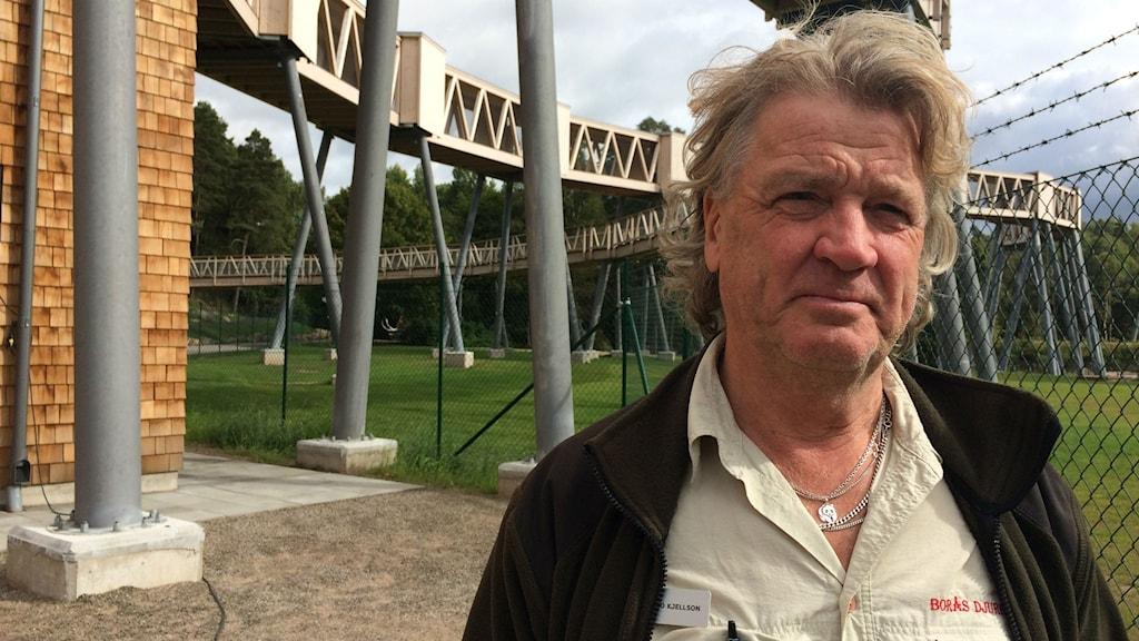 Bo Kjellson, vd för Borås djurpark.