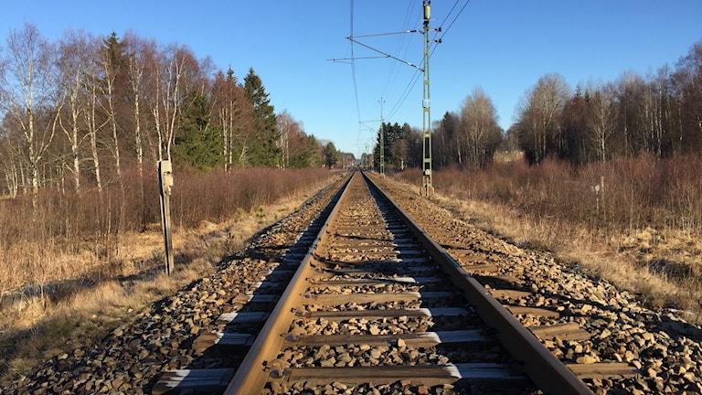 Järnväg.