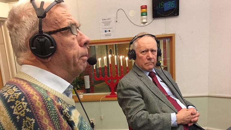 Roland Andersson Reimar Westerlind debatterar kongresshuset