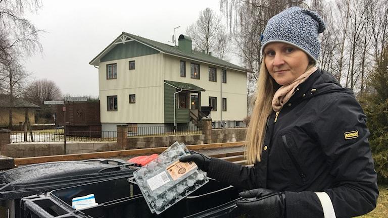Anika Lannér är med och tar del av pilotprojektet.