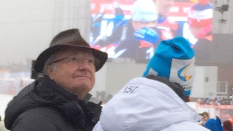 Kungen på världscupen i Ulricehamn.