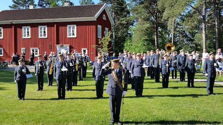 Nationaldagsfirande i Ramnaparken i Borås