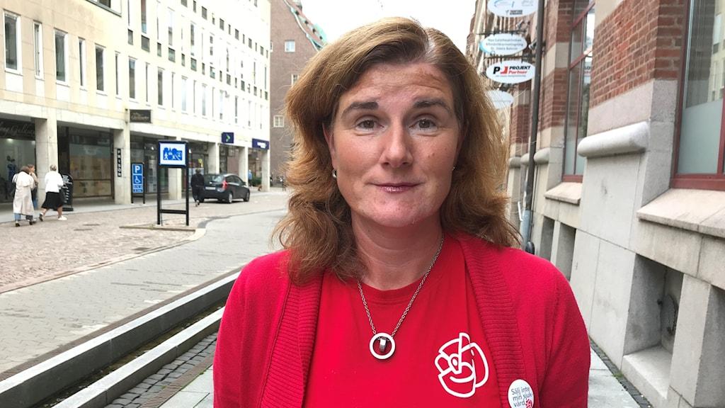 Helén Eliasson (S), vice ordförande i Regionstyrelsen.