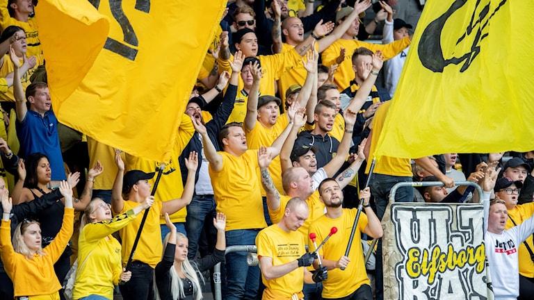 fansen hejar på elfsborg
