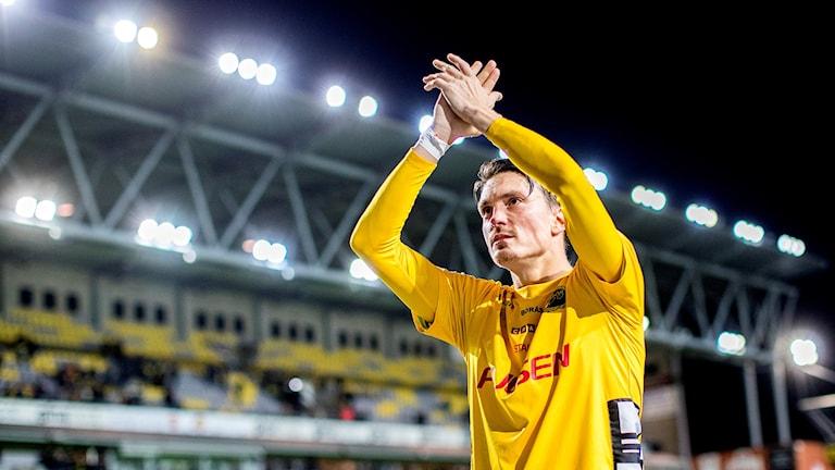 Lasse Nilsson avslutade sin Elfsborgskarriär.