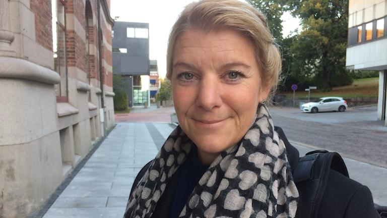 Lena Hedén forskar om barns smärta