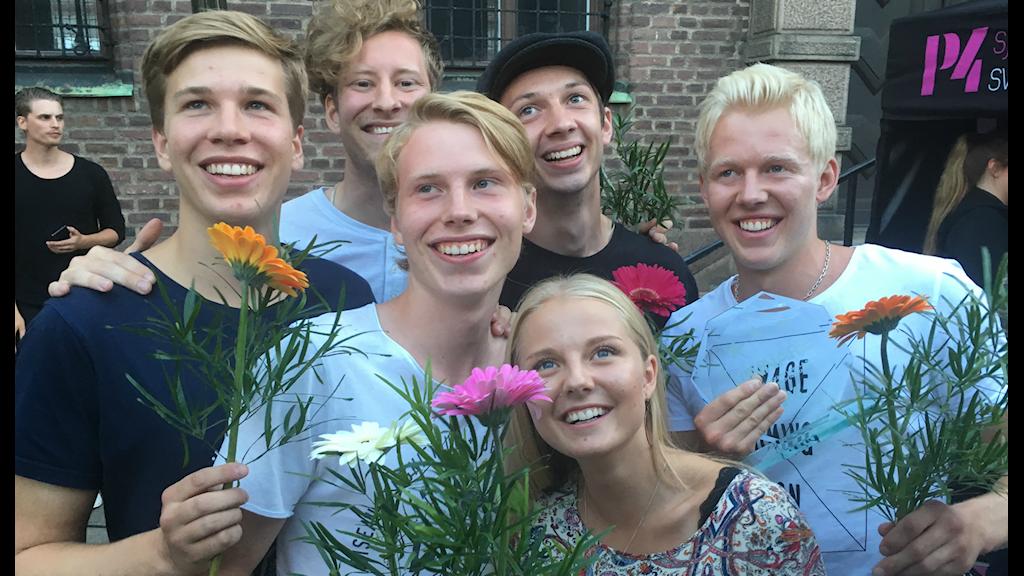 Mackan n´ Matthew vann Sjuhäradsfinalen av Svensktoppen nästa 2016