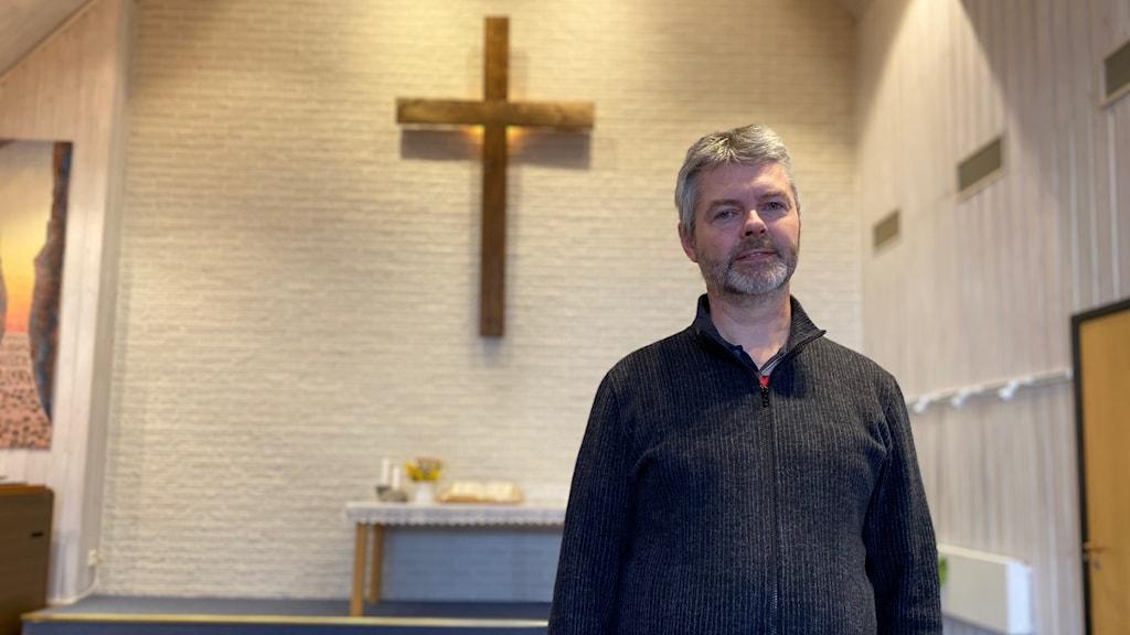 Svante Persson är pastor i Pingstkyrkan i Kinna