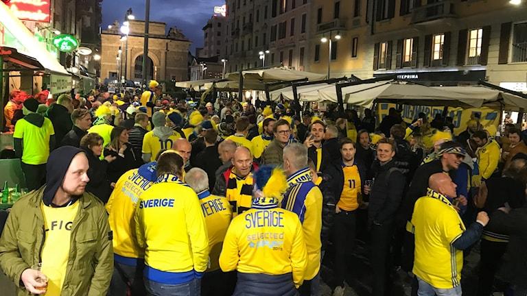 Camp Sweden i Italien