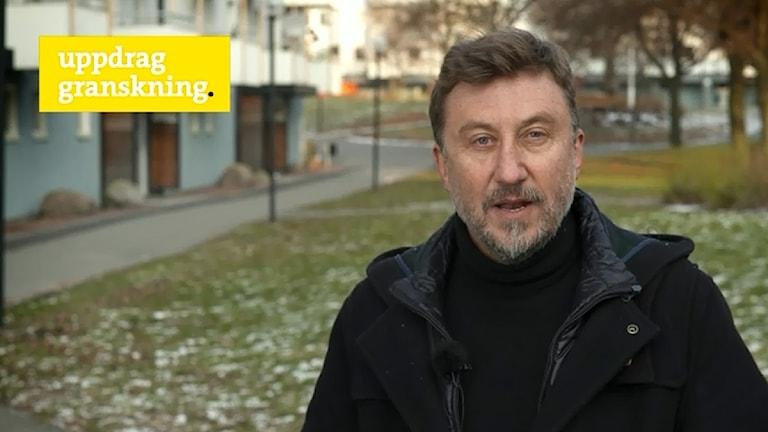 Janne Josefsson i gårdagens Uppdrag granskning.
