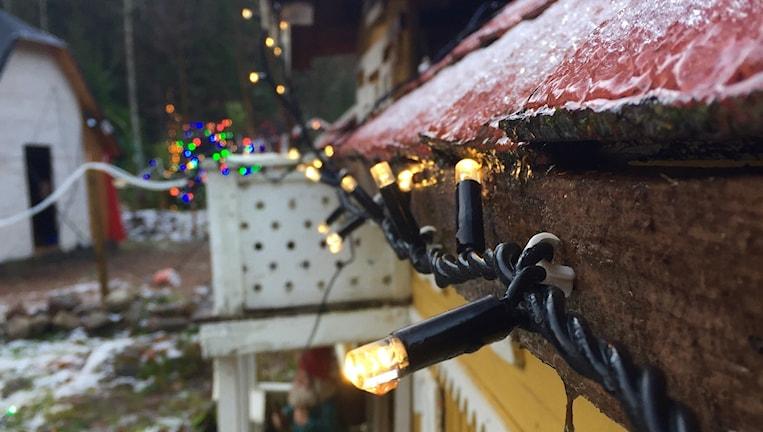 Juljul i varje hus hos Lill-Marie Boström.