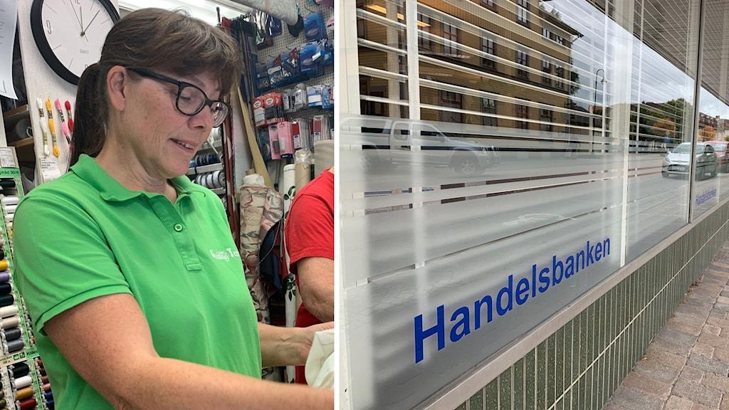 Lena Jansson och Handelsbanken i Herrljunga
