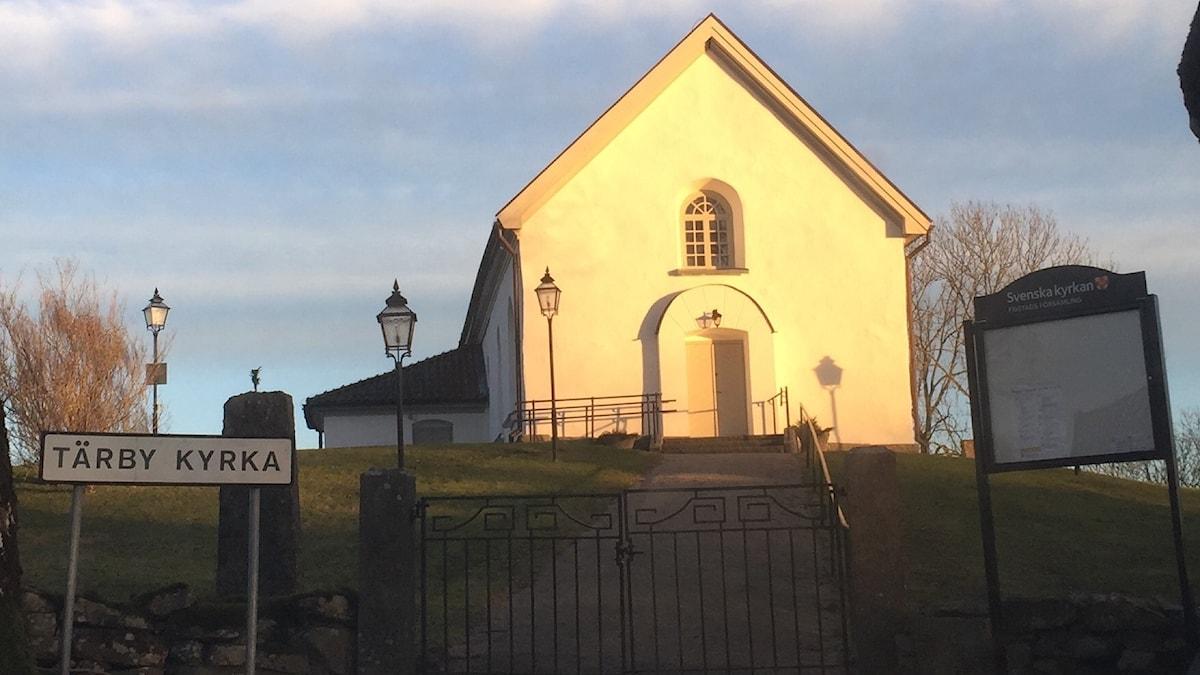 Tärby kyrka används flitigt.