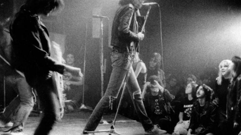 Konsert med punkgruppen Ramones. Foto: Legs McNeil
