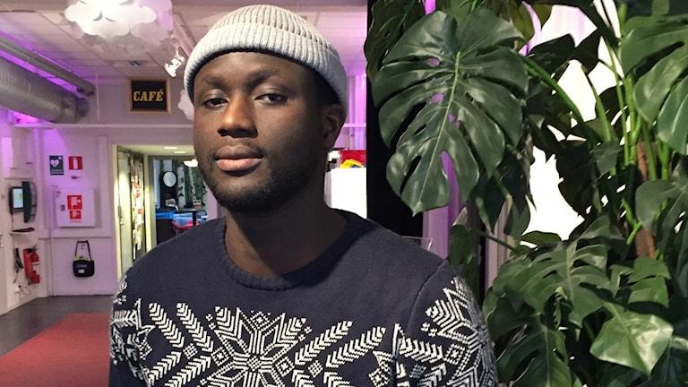 Boråsaren Yankuba Daffeah kom till Sverige från Gambia som 13-åring