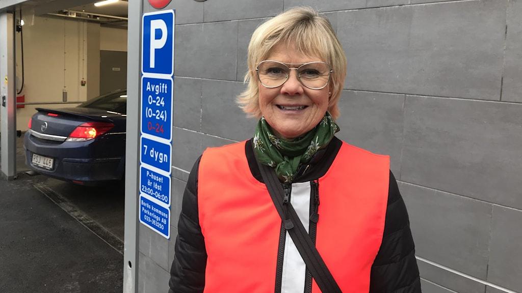 Birgitta Neugebauer vd Borås kommuns parkering AB