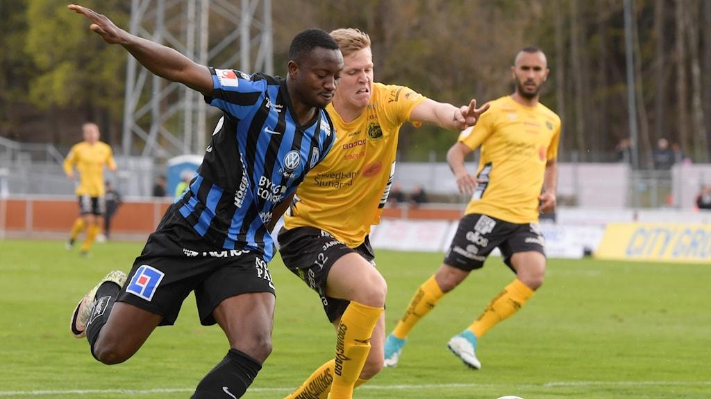 Elfsborgs Joakim Nilsson under förra säsongens match borta mot Sirius.
