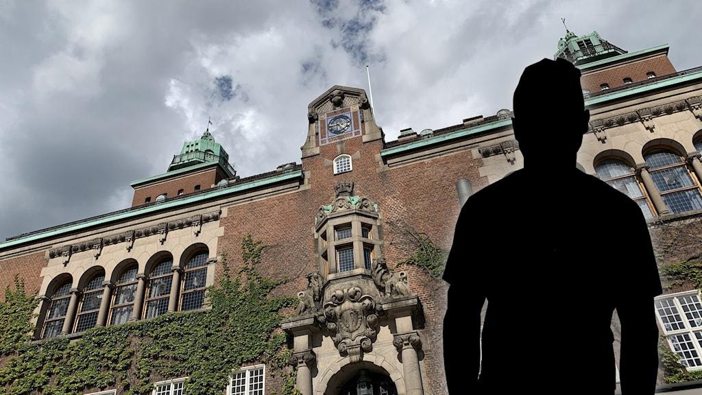 en bild på Borås tingsrätt