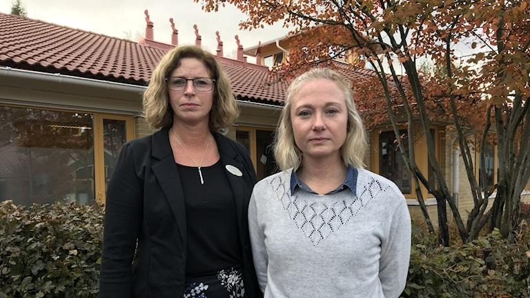 Susanne Frostenäs och Kristina Hilding