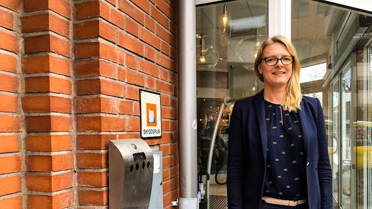 Jenny Bladh, hotelldirektör Scandic Plaza Borås.