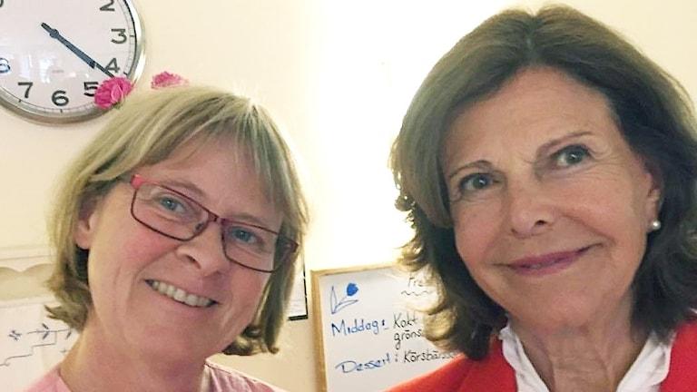 Selfie tagen på demensboende i Älmhult