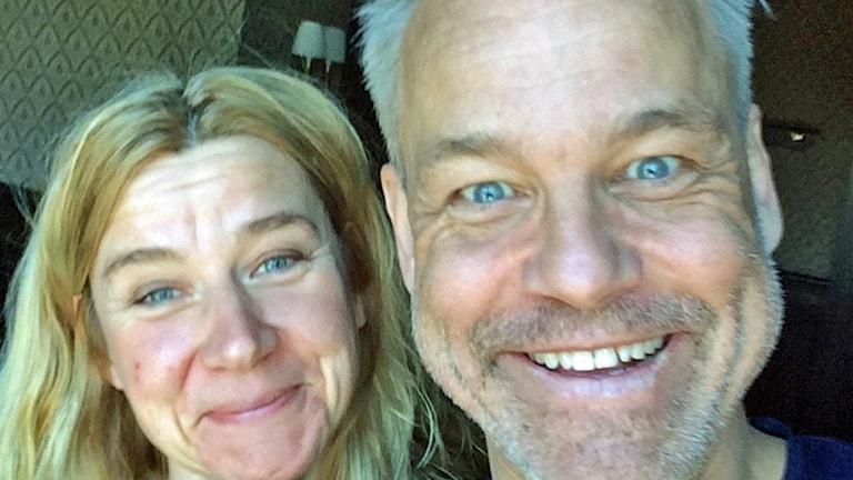 Kristin Holmberg och Henrik Schyffert