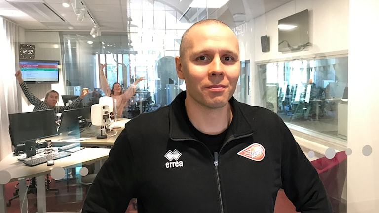Henrik Svensson, huvudcoach Borås basket