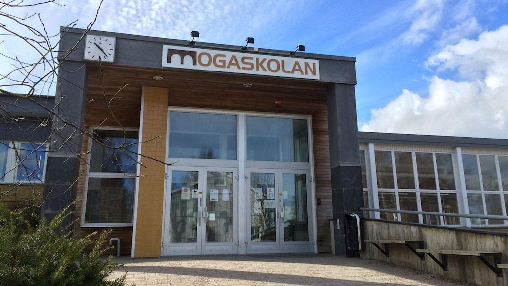 Mogaskolan i Svenljunga.
