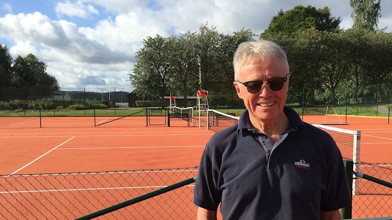 Roland Ohlander, ordförande i Sandareds Tennisklubb.