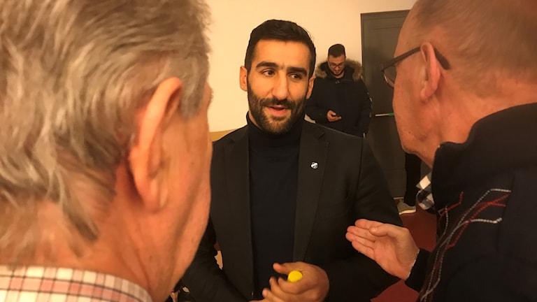 Norrbys nye tränare Mohammerd Ali Khan